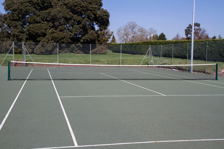Tennis Court Construction Pavers